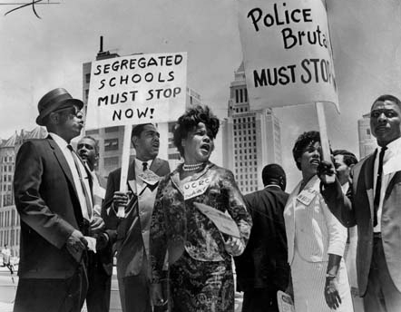 The Civil Rights Movement in America 1945 to 1968